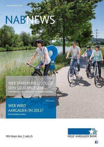NAB NEWS - NAB Neue Aargauer Bank