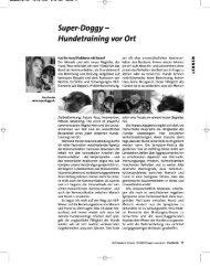 Super Doggy - Hundetraining vor Ort - NLP Akademie Schweiz