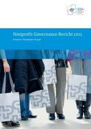 Nonprofit Governance-Bericht 2012 - Schweizer Paraplegiker-Gruppe