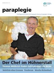 Paraplegie Nr. 148, November 2013 (PDF, 3.5 MB) - Schweizer ...