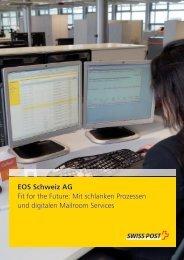 EOS Schweiz AG - Die Post