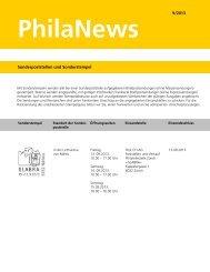 PhilaNews 9/2013 - Die Post
