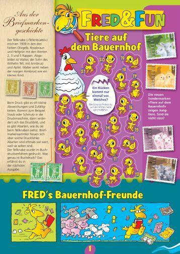 Fred & Fun 3/2013 – Ausgabe Juli 2013Link wird in einem ... - Die Post