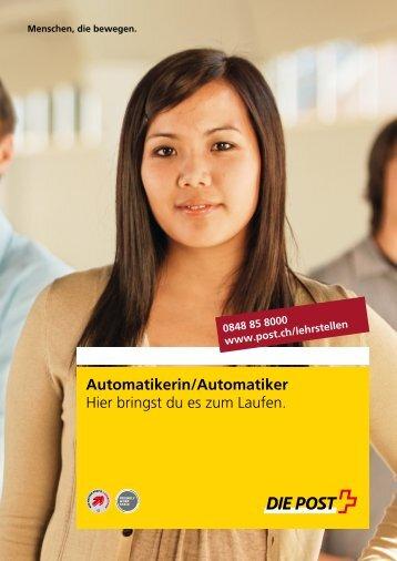Automatikerin / Automatiker - Die Post