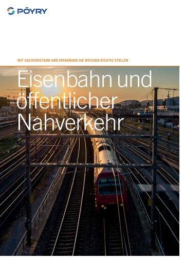 Eisenbahn & Öffentlicher Nahverkehr - Pöyry