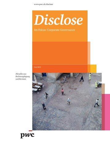 Im Fokus: Corporate Governance - PwC