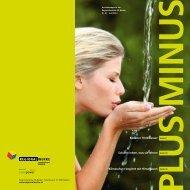 PlusMinus Nr. 41, Juni 2013 - Regionalwerke AG Baden