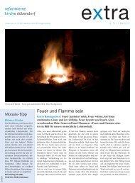 extra Nr. 10 vom 17. Mai 2013 - Evangelisch-reformierte ...