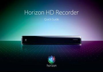 Horizon HD Recorder - beim R+F Netz Zollikon