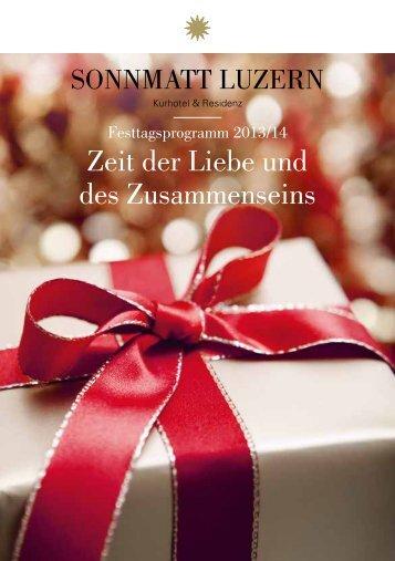 Zeit der Liebe und des Zusammenseins - Sonnmatt Luzern