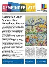 Faszination leben - Reformierte Kirchgemeinde Solothurn