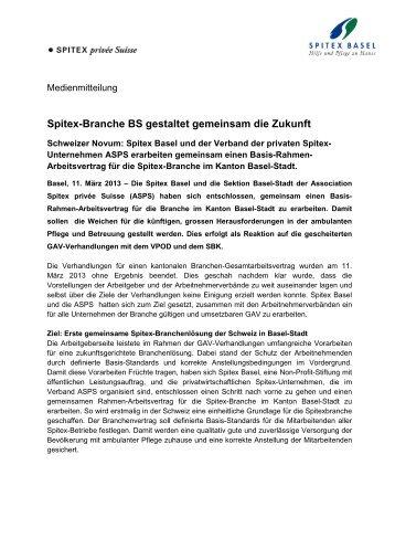 Medienmitteilung (D) - Spitex Basel
