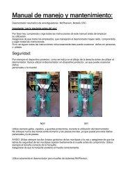 Manual de manejo y mantenimiento: - CompaC
