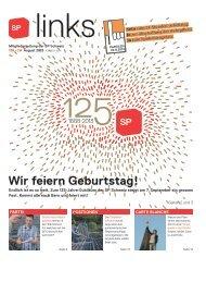 Wir feiern Geburtstag! - SP Schweiz