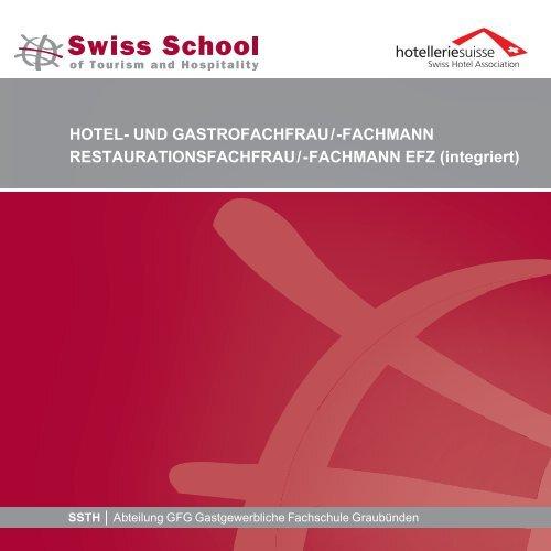 Broschüre anschauen - SSTH Schweiz. Schule für Touristik und ...
