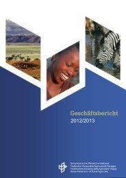 Geschäftsbericht 2012/2013 - srv