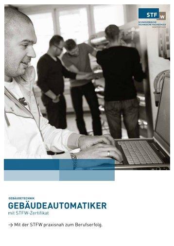 gebäudeautomatiker - Schweizerische Technische Fachschule (STF)