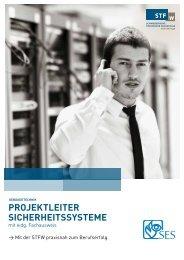 projektleiter sicherheitssysteme - Schweizerische Technische ...