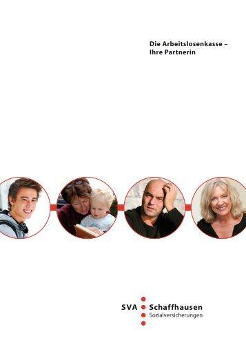 Die Arbeitslosenkasse – Ihre Partnerin - SVA Schaffhausen