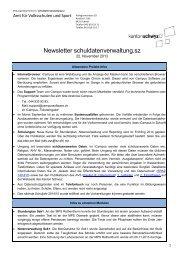 Newsletter_13-11-20 [PDF, 86.0 KB] - Kanton Schwyz