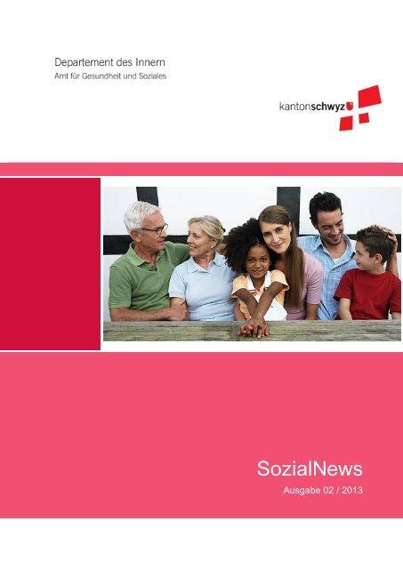 SozialNews 2/2013 - Kanton Schwyz