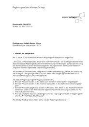 RRB 504/2013 - Kanton Schwyz