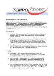 Schwimmtipps von Jan Sibbersen.pdf - Tempo-Sport AG