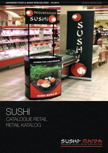 CATALOGUE rETAiL rETAiL kATALOG - Sushi mania
