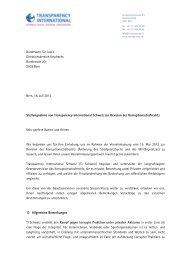 Stellungnahme von TI Schweiz zur Revision des ...