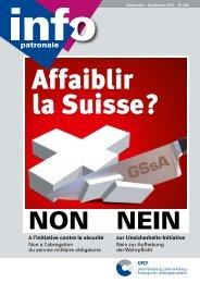 Info Patronale n°249 September 2013 - Union Patronale du Canton ...