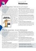 Info Patronale n°249 September 2013 - Union Patronale du Canton ... - Page 5