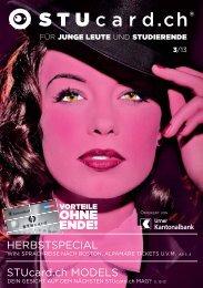 HERBSTSPECIAL STUcard.ch MODELS - Urner Kantonalbank