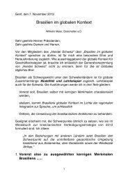 Rede Botschafter Willi Meier - VSIG: Handel Schweiz