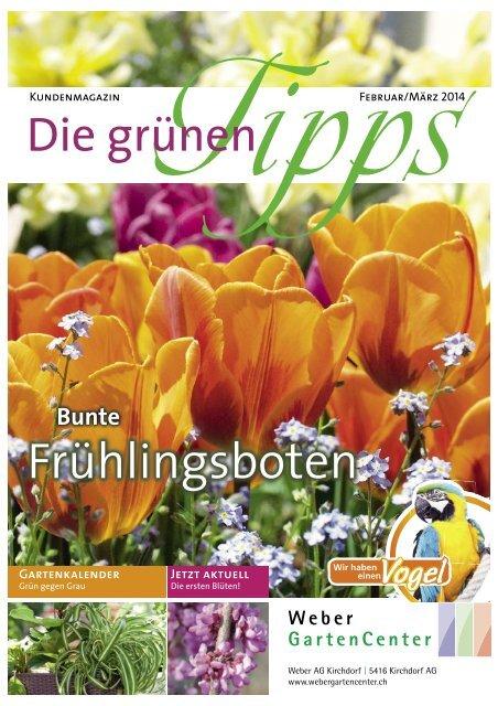 Kundenzeitschrift Nr. 01/2014 - Weber GartenCenter