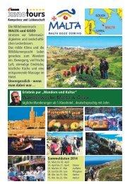 Wanderwoche auf Malta und Gozo - Xenotours