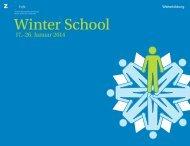 Download Broschüre Winter School 2014 - Zürcher Hochschule der ...