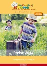 Preisliste 2014 - Du-Familotel Krone