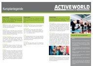 Aktueller Kursplan gültig ab 23. September 2013 - Active World