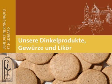 Dinkelprospekt - Abtei St. Hildegard