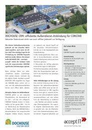 finden Sie die kompletten Bericht als PDF zum ... - Accept-IT GmbH