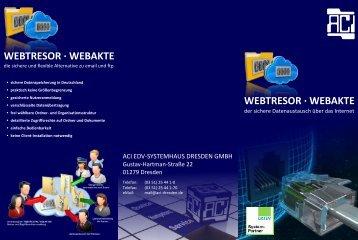 webtresor · webakte webtresor · webakte - ACI EDV-Systemhaus ...