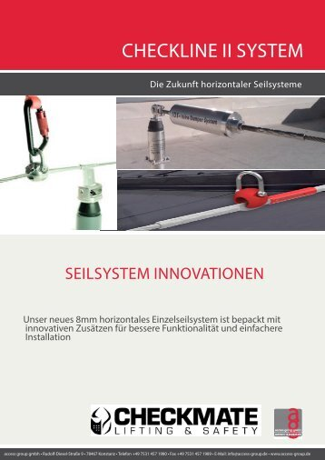 Checkline II.indd - access group gmbh