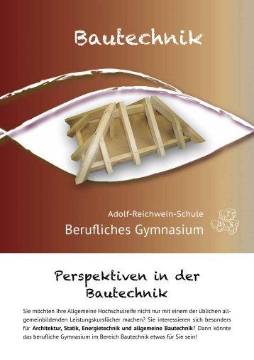 Bautechnik - Adolf-Reichwein-Schule