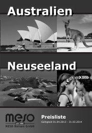 Preise Australien/Neuseeland 01.04.2013 - 31.03 ... - Alternativ Tours