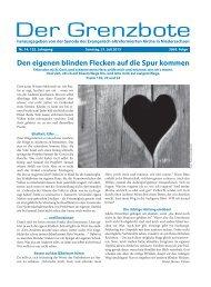 14/2013 - Die Evangelisch-altreformierte Kirche in Niedersachsen