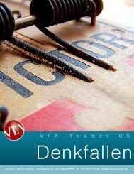 Denkfallen - VIA Hans-Jürgen Walter et friends