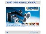 Firmenpräsentation - AMECO Metall-Service GmbH