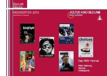 Mediadaten 2014 - Berndt Media