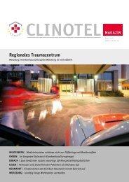 Regionales Traumazentrum - CLINOTEL-Krankenhausverbund