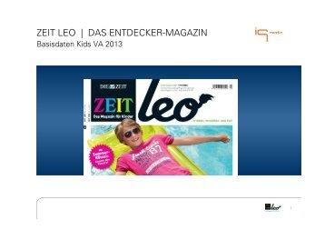 ZEIT LEO | DAS ENTDECKER-MAGAZIN